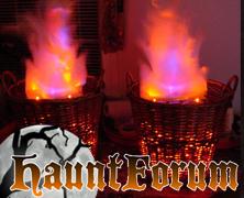 Faux Fire Basket
