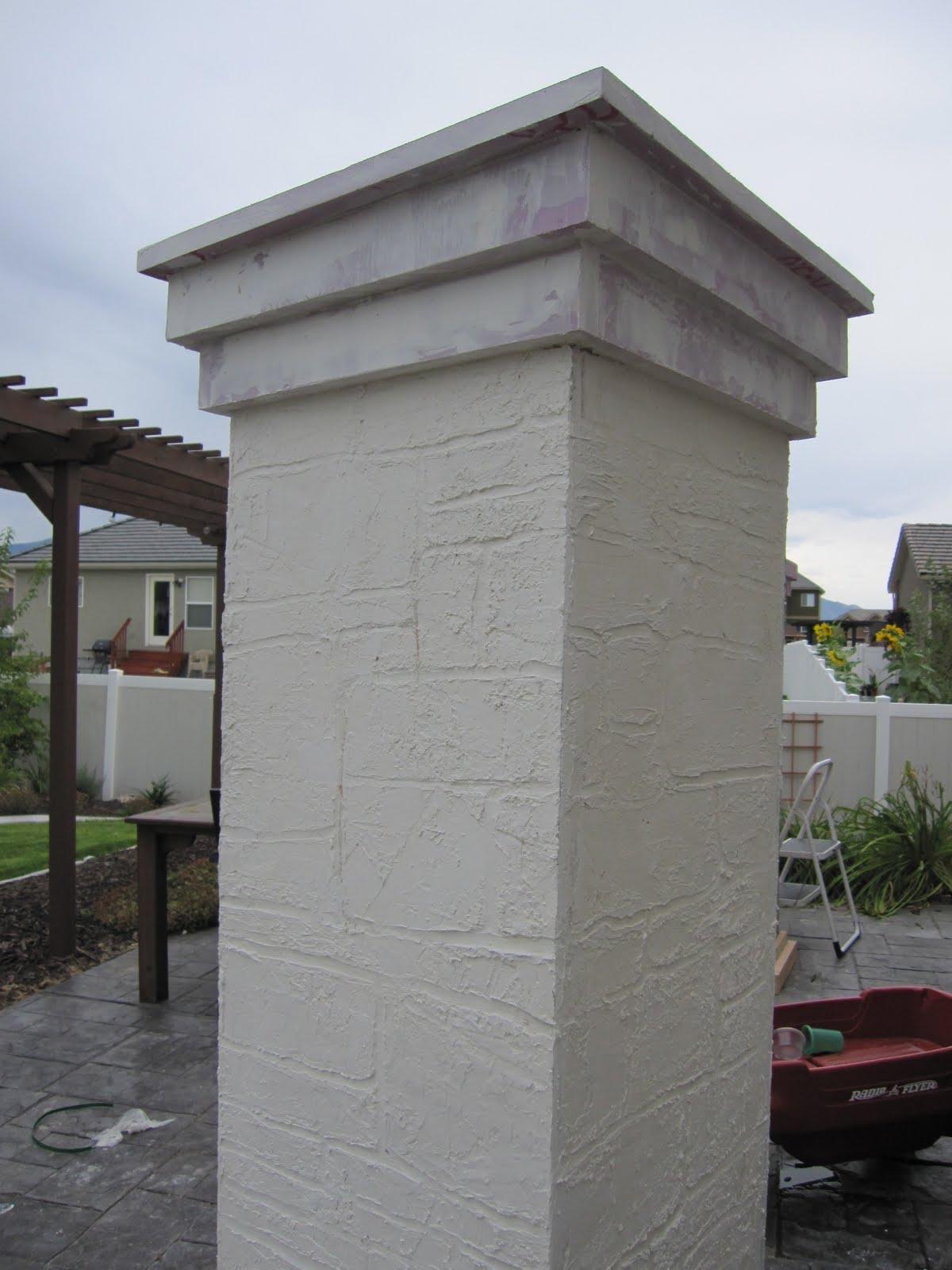 Stone Cemetery Columns : Nightmare on bayshore crypt cemetery columns haunter s list