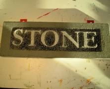 Carved Granite From Foam